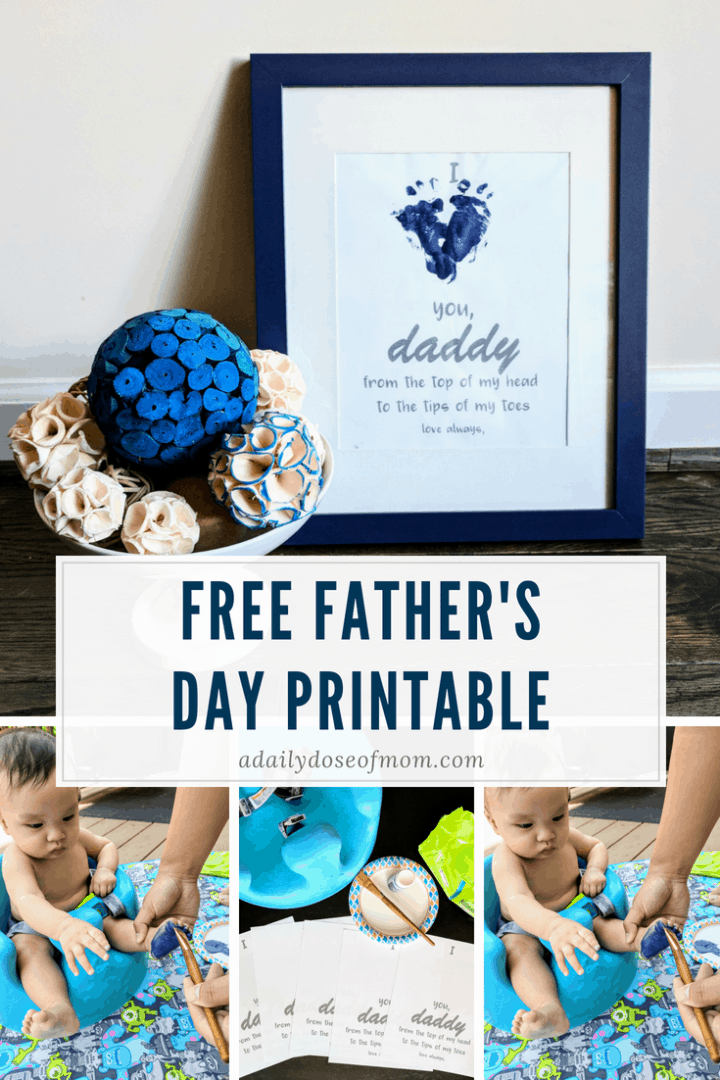 Free Father's Day Printable Pinterest