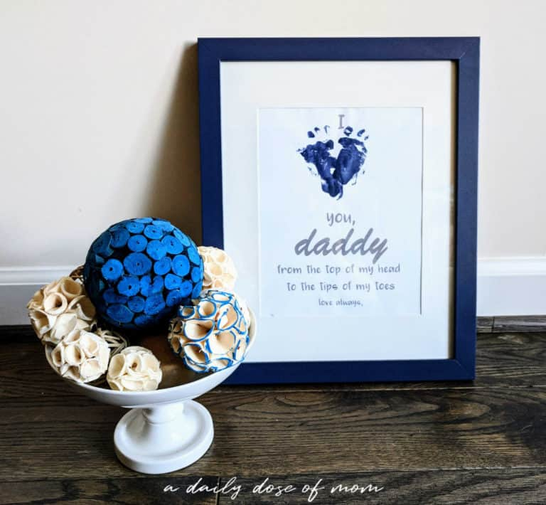 A FREE DIY Father's Day Printable That Will Melt Hearts