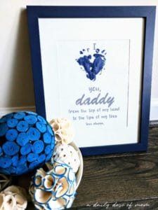 Father's Day Printable Closeup