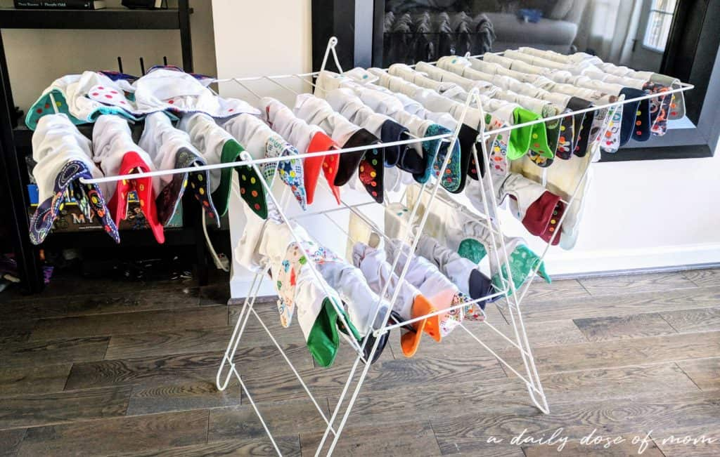 Cloth Diapers Hang Dry
