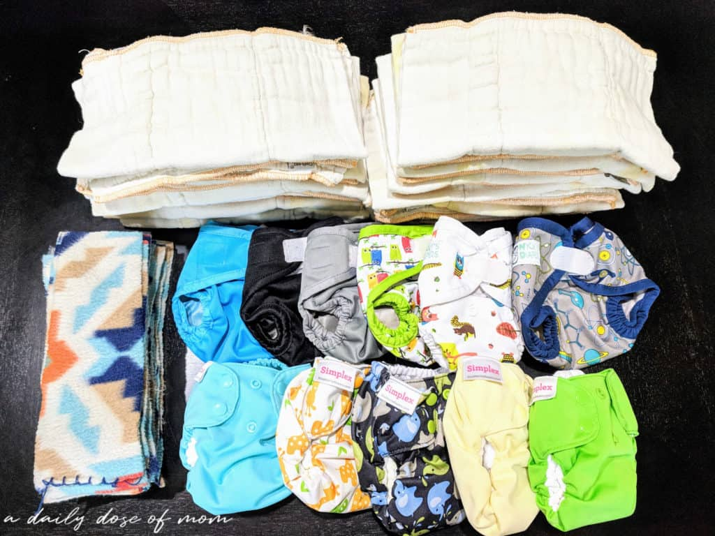 Newborn Cloth Diaper Featured