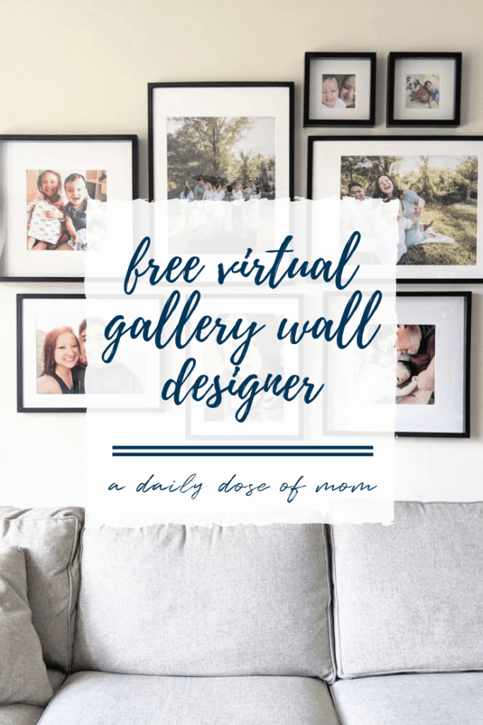 Virtual Gallery Wall Designer Pin