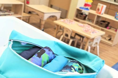 How to Use Cloth Diapers at Daycare Featured Image