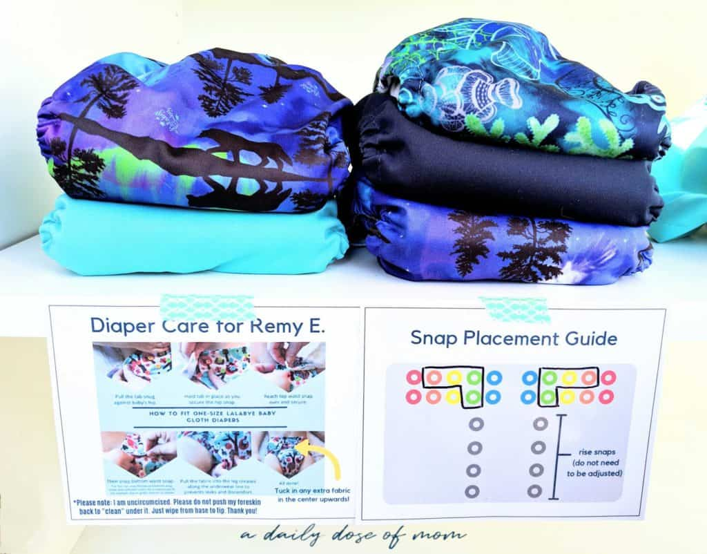 How to Use Cloth Diapers at Daycare 7