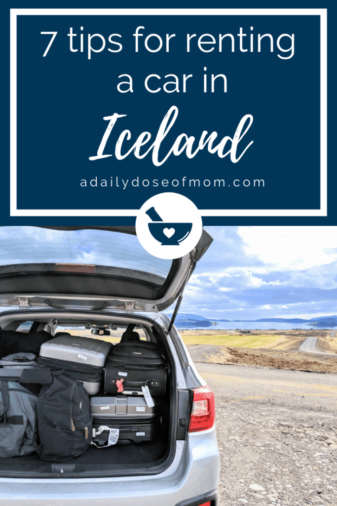Renting a Car in Iceland Pin
