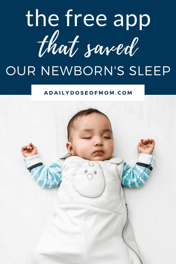 Huckleberry App Newborn Sleep Pin