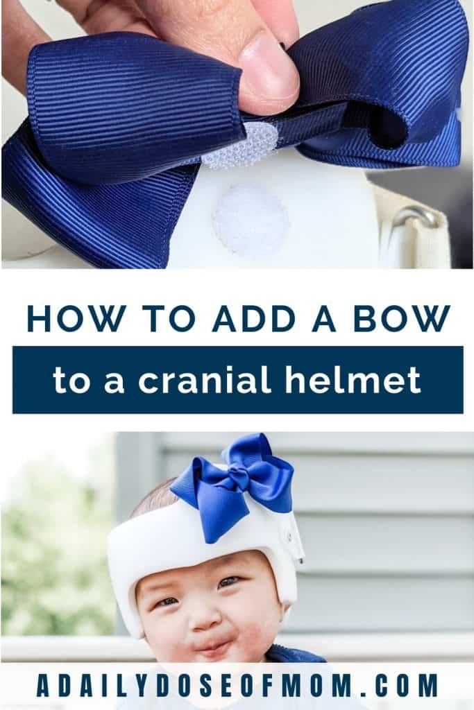 Add Bow to Cranial Helmet Pin 1