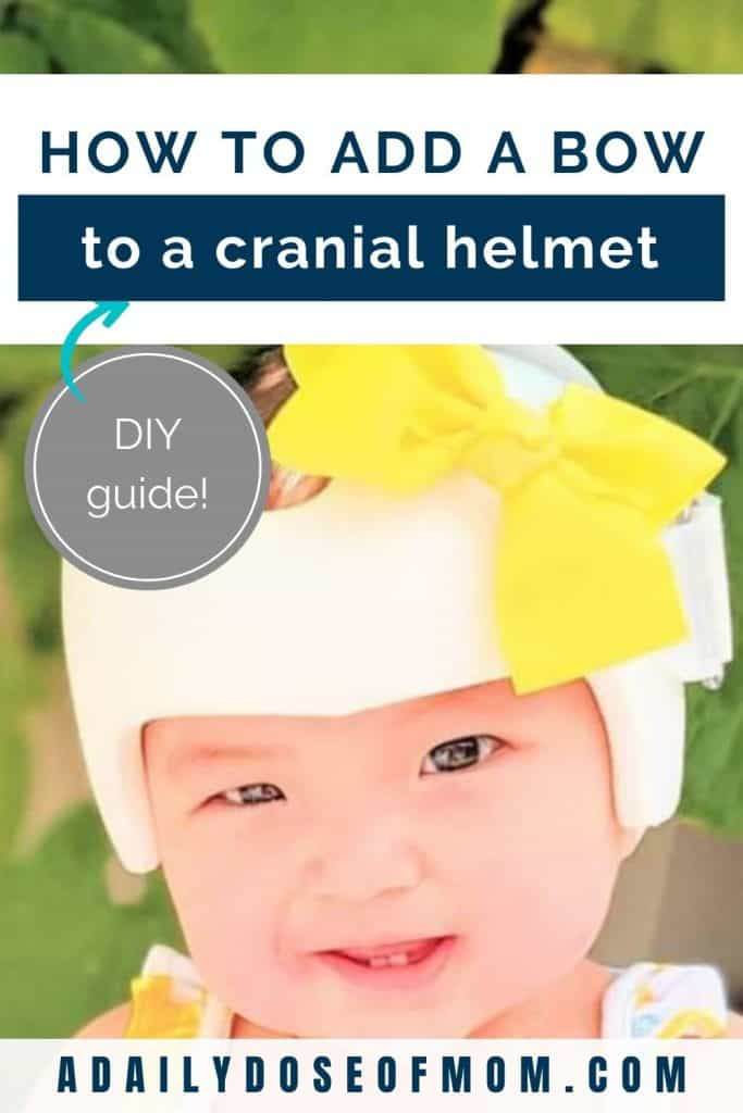 Add Bow to Cranial Helmet Pin 2