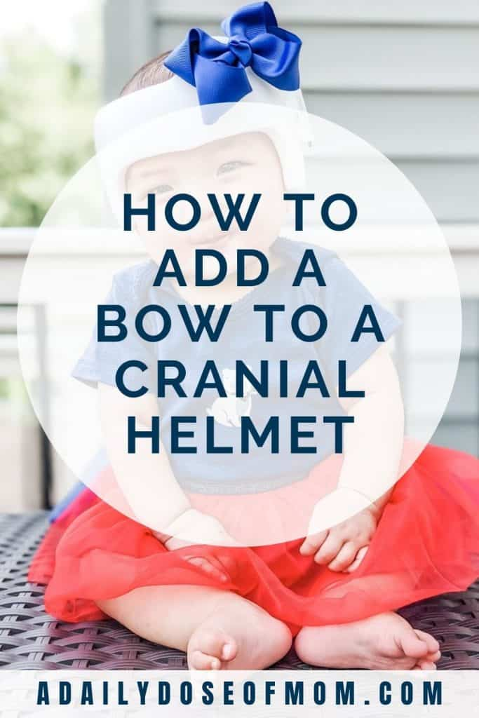 Add Bow to Cranial Helmet Pin 3