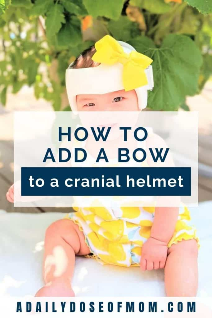 Add Bow to Cranial Helmet Pin 4