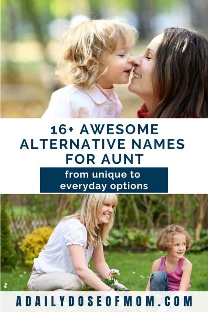 Alternative Names for Aunt Pin 1
