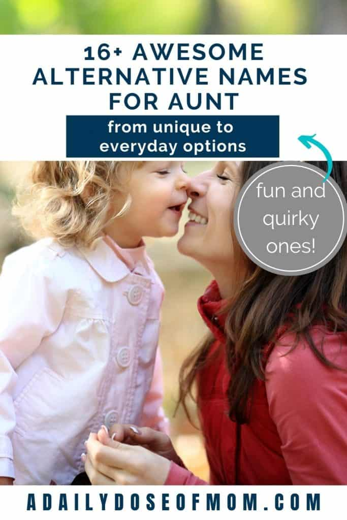Alternative Names for Aunt Pin 2