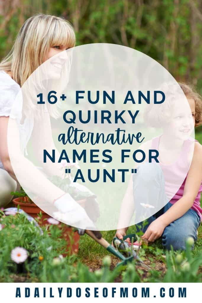 Alternative Names for Aunt Pin 3