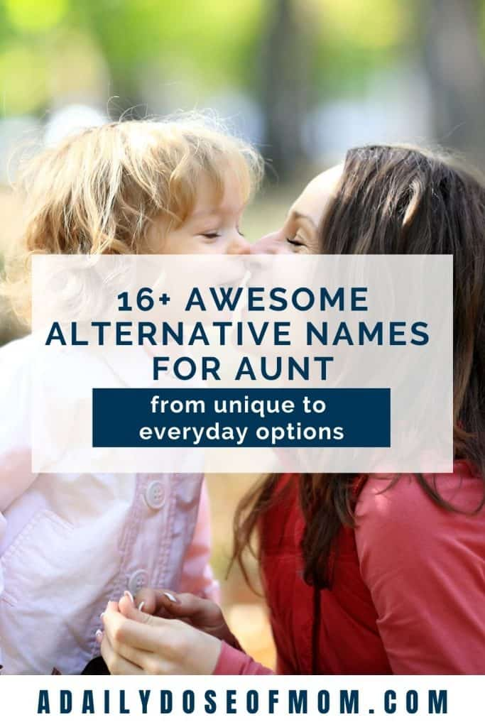 Alternative Names for Aunt Pin 4
