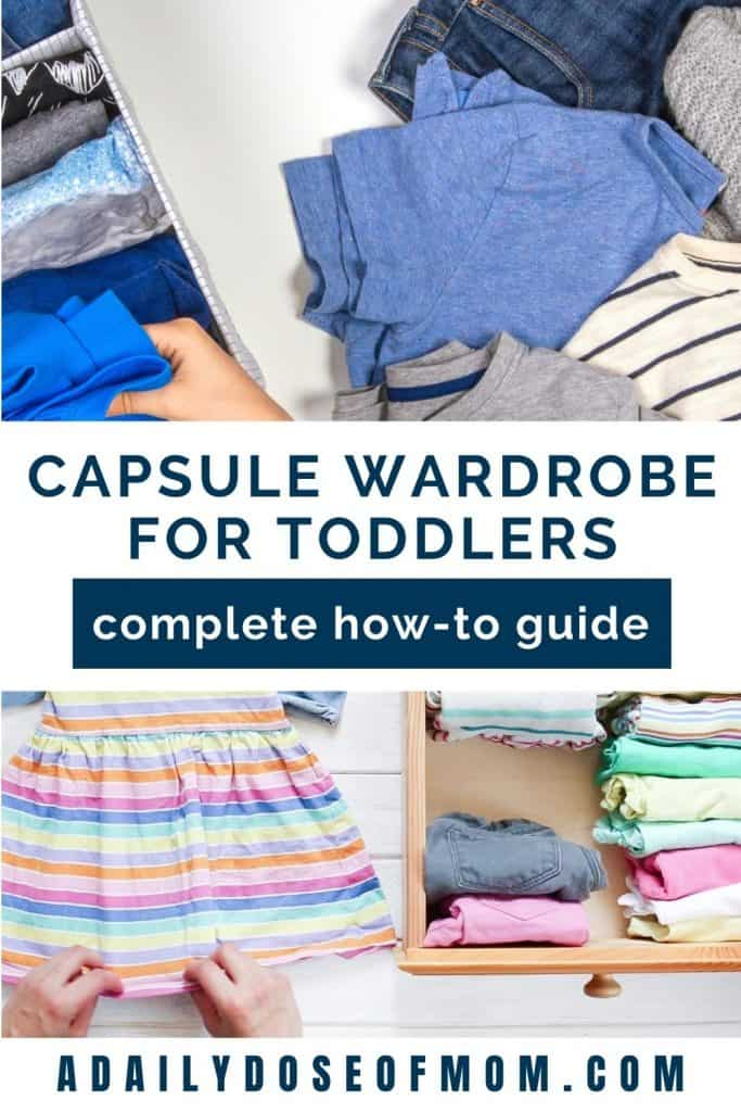 Capsule Wardrobe Toddlers Pin 1