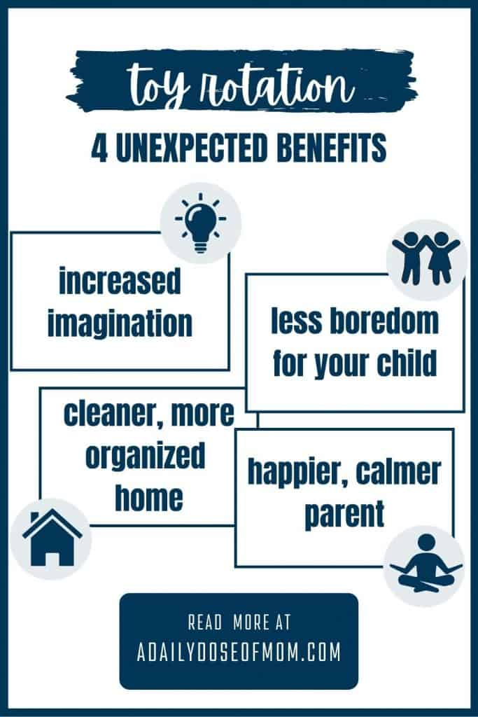 infographic of the benefits of toy rotation