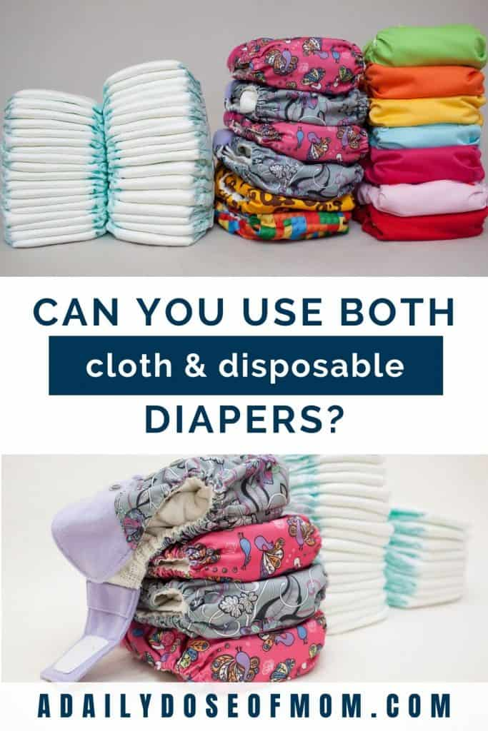 Using Both Cloth and Disposable Diapers Pin 1