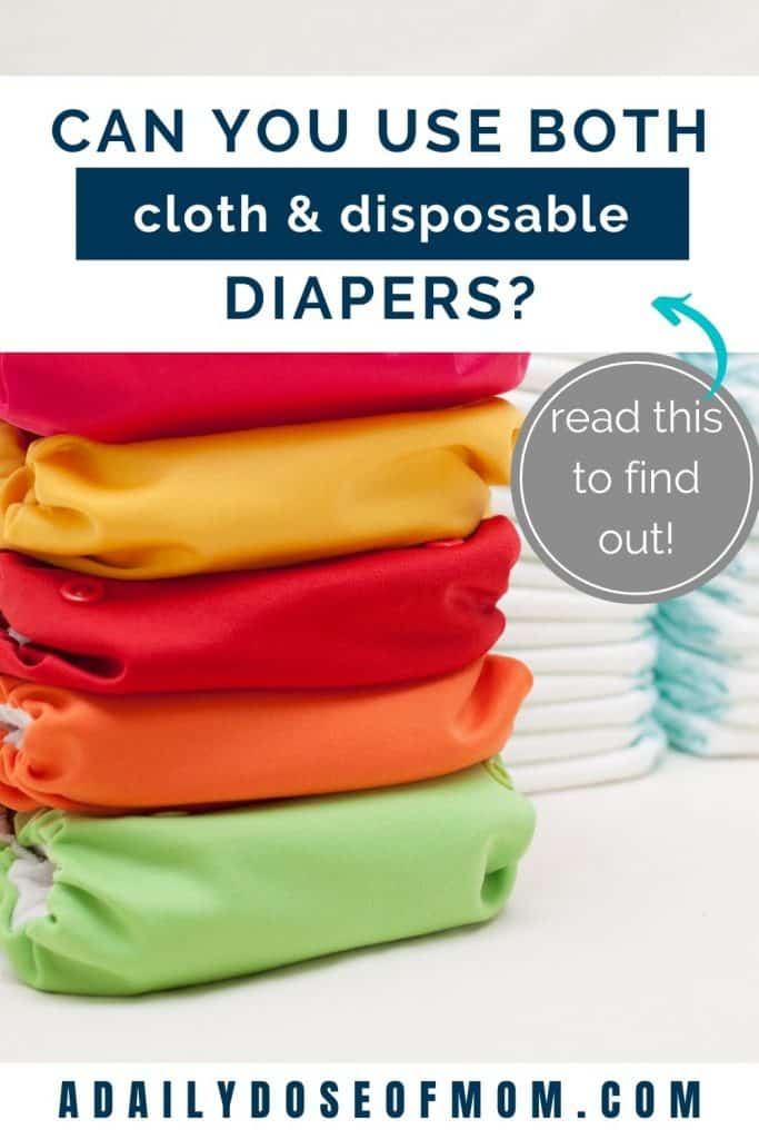 Using Both Cloth and Disposable Diapers Pin 2
