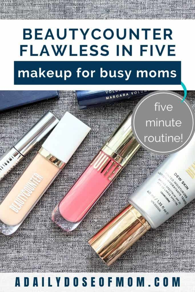 Beautycounter Flawless in Five Review for Moms Pin 2
