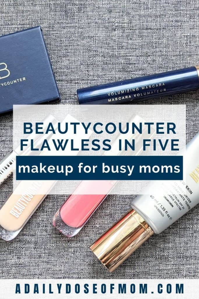 Beautycounter Flawless in Five Review for Moms Pin 4