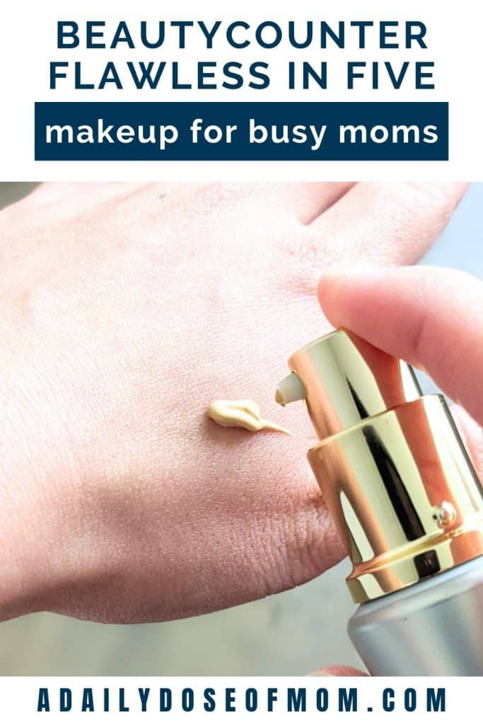 Beautycounter Flawless in Five Review for Moms Pin 5