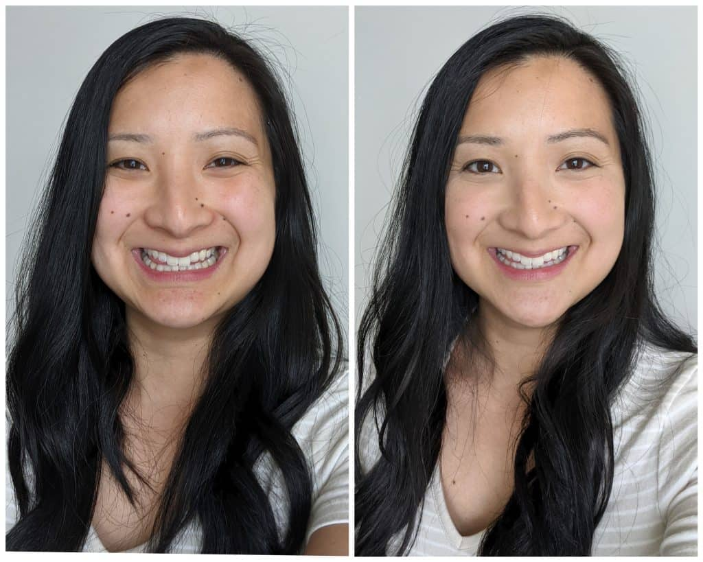 Beautycounter Flawless in Five Review for Moms Before and After